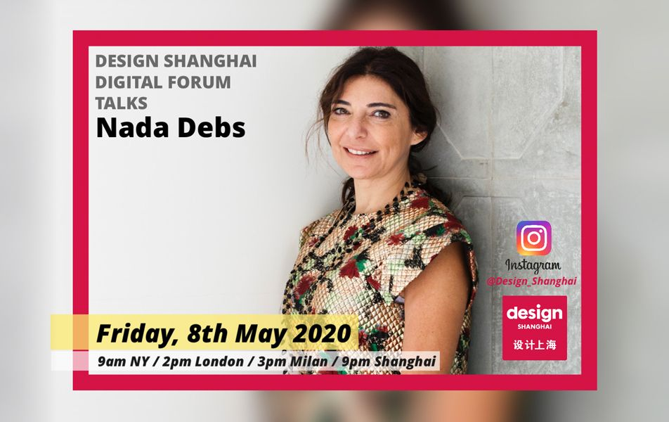 Join Our Next Digital Forum Talks With Lebanese Designer Nada Debs!