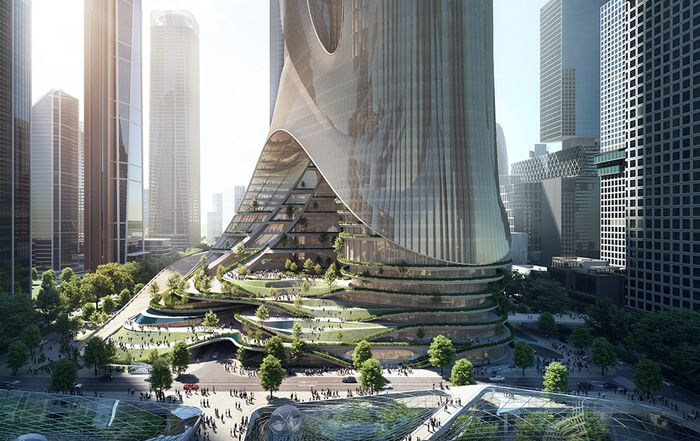 Zaha Hadid Architects wins design competition for Tower C at Shenzhen Bay Super Headquarters Base