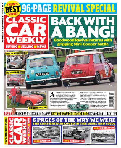 Classic Car Weekly subscription
