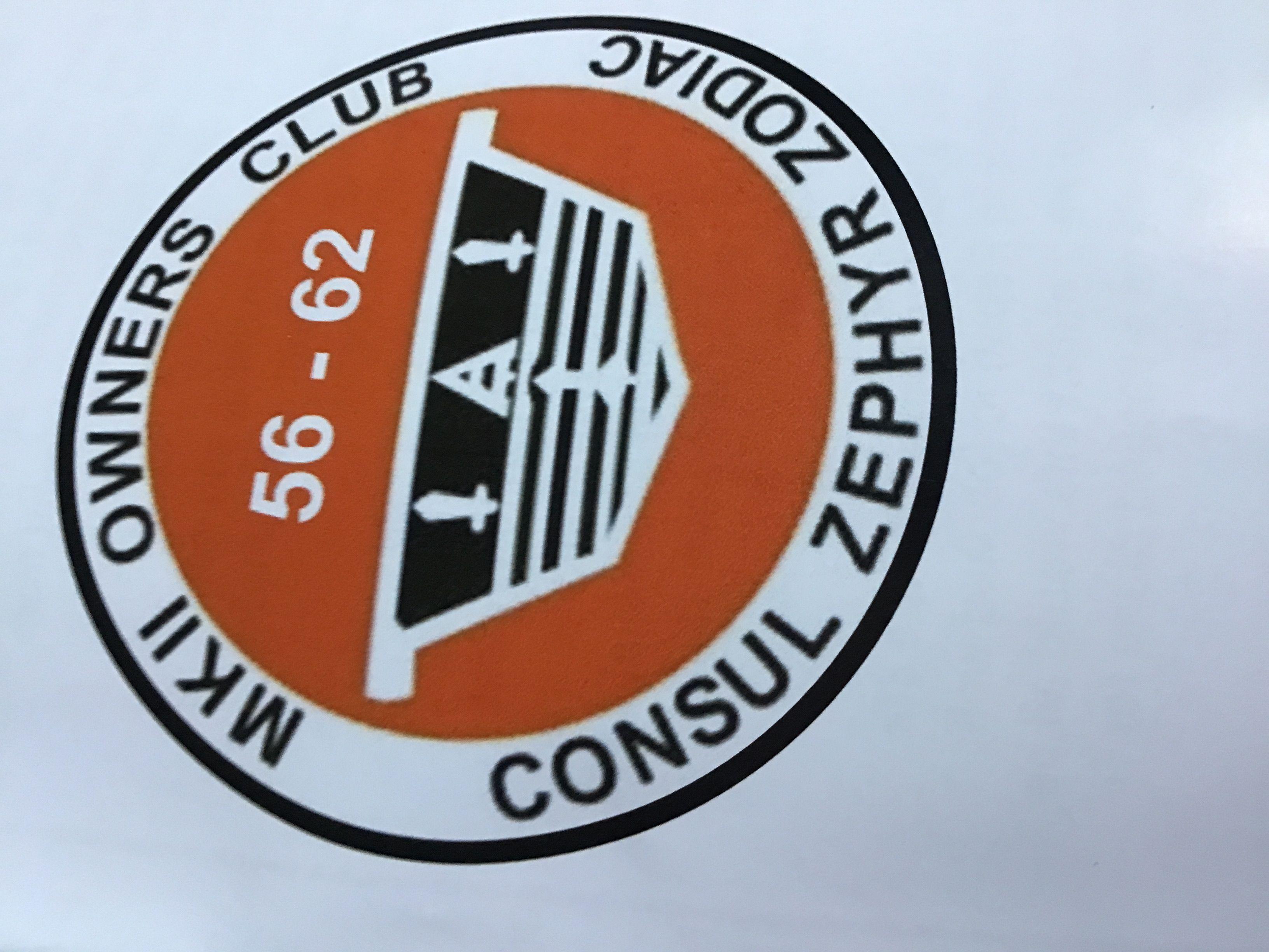 Ford MK2 Consul Zephyr Zodiac Owners Club