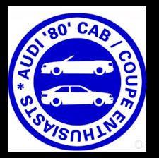 Audi 80 Cab Coupé Enthusiasts