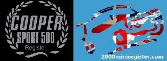 Cooper Sport 500 & 2000 MINI Register