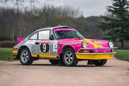 1975 Porsche 911 Carrera MFI Safari Rally Car