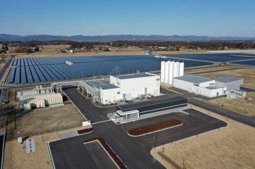 Toshiba launches 'world's largest hydrogen plant' in Fukushima