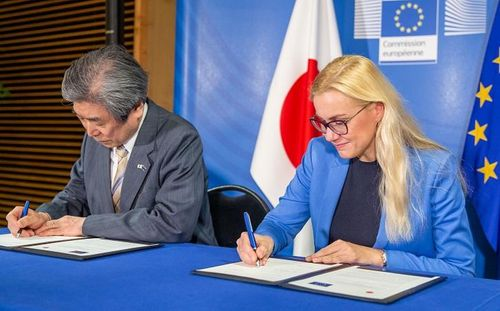 EU signs nuclear fusion pact with Japan