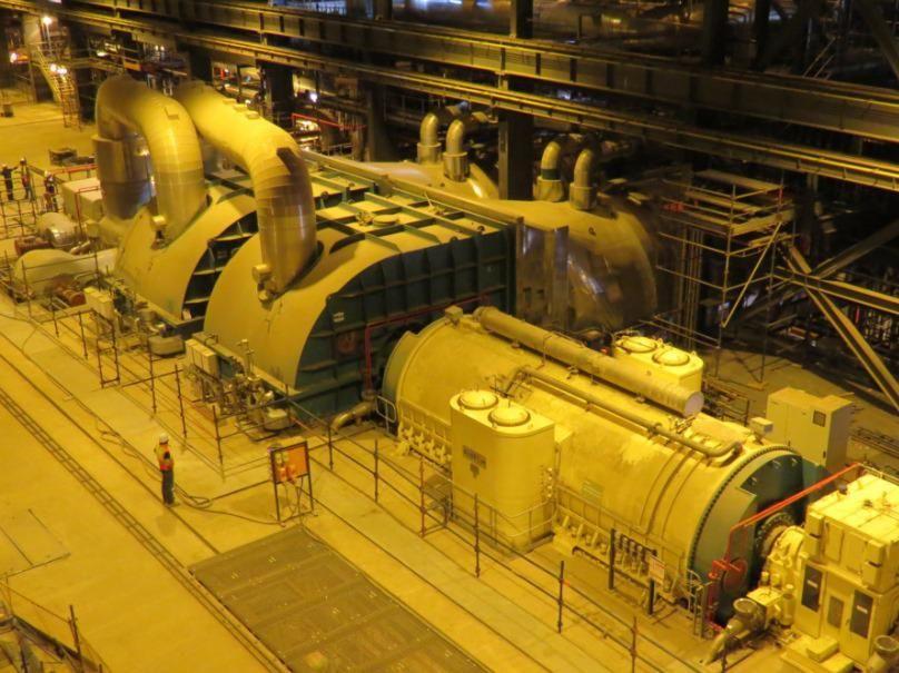 GE Unit 2 Turbine & GEnerator