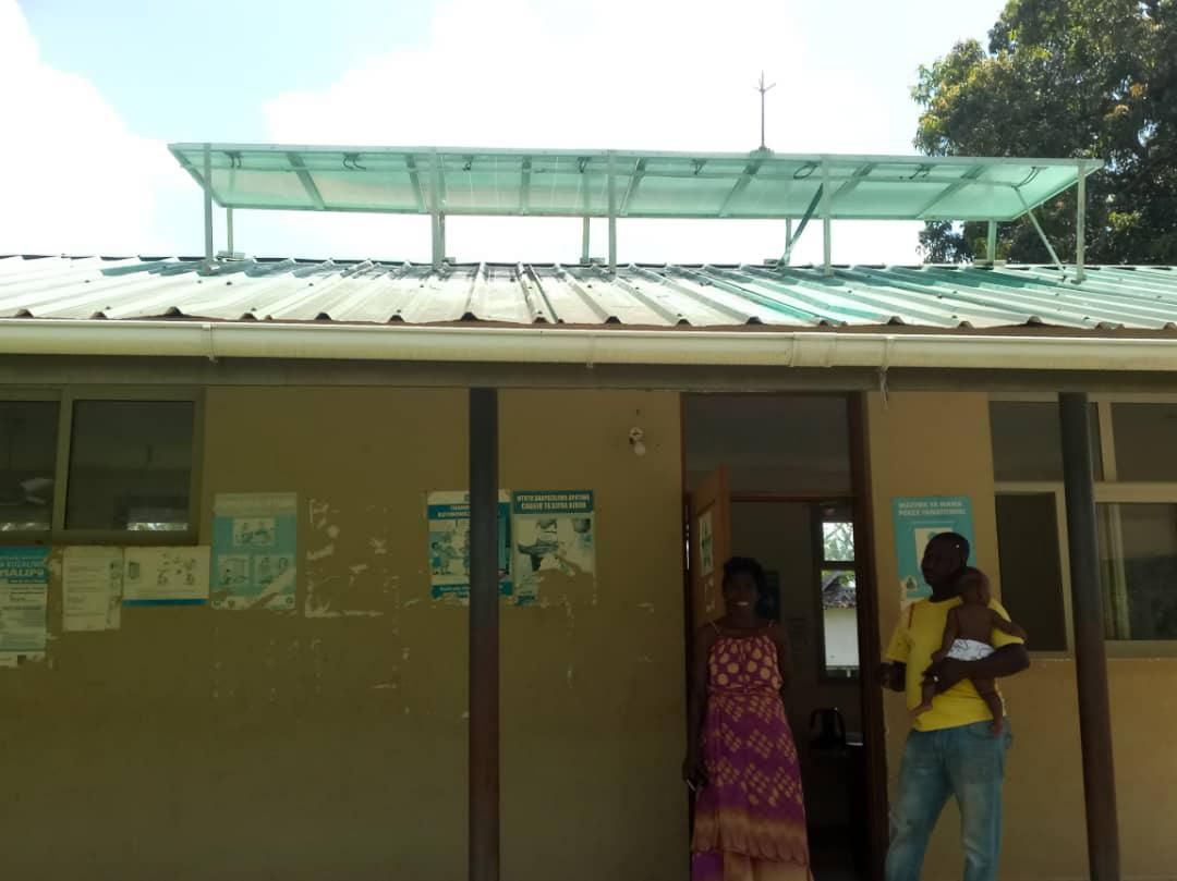 TAREA: Solar system at Mbemba dispensary labour room