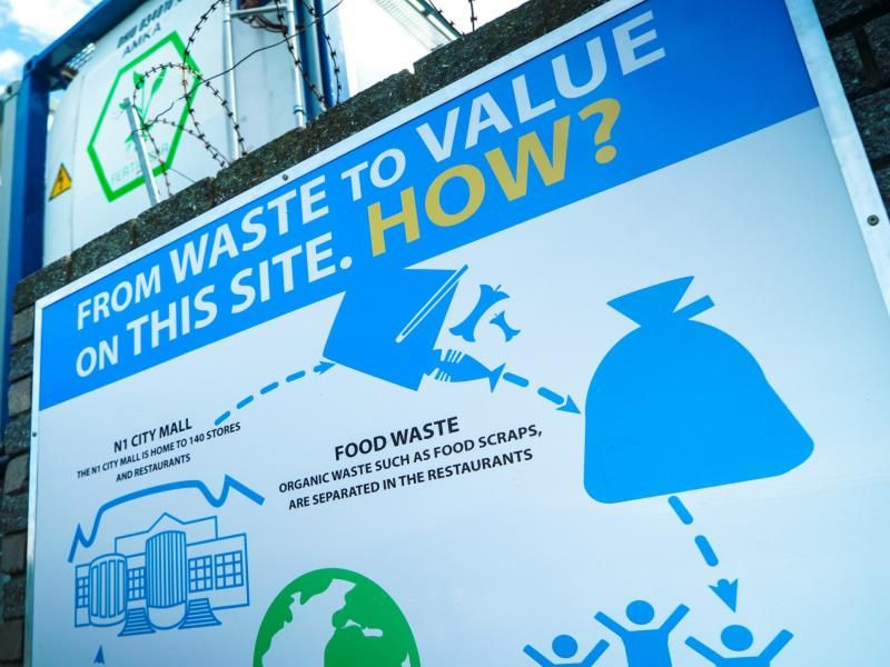 N1 City mall shows exciting potential of 3-in-1 waste-to-power technology