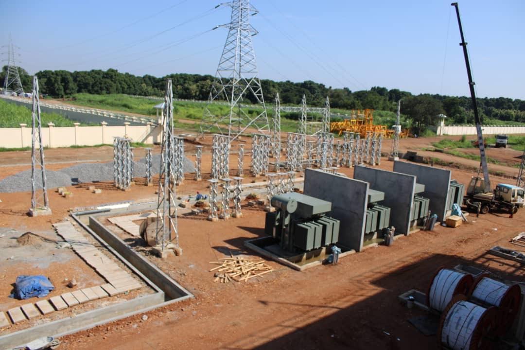 Gantry for Ezra Power Plant