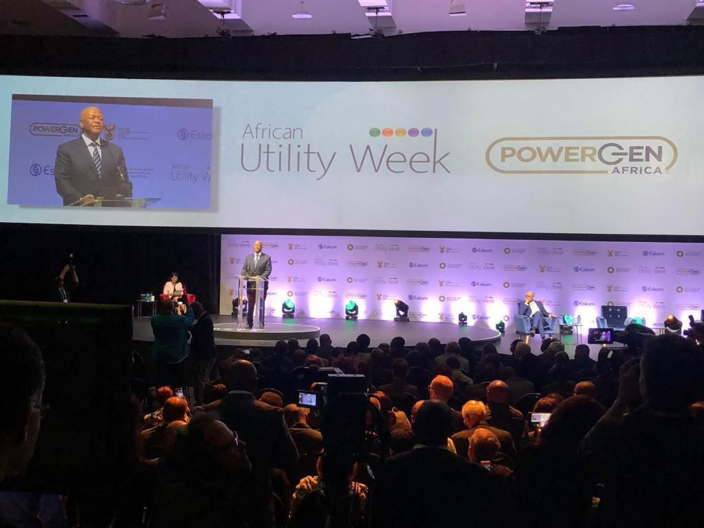 African Utility Week and POWERGEN Africa Day 1: SA not ready to just ditch coal: Radebe
