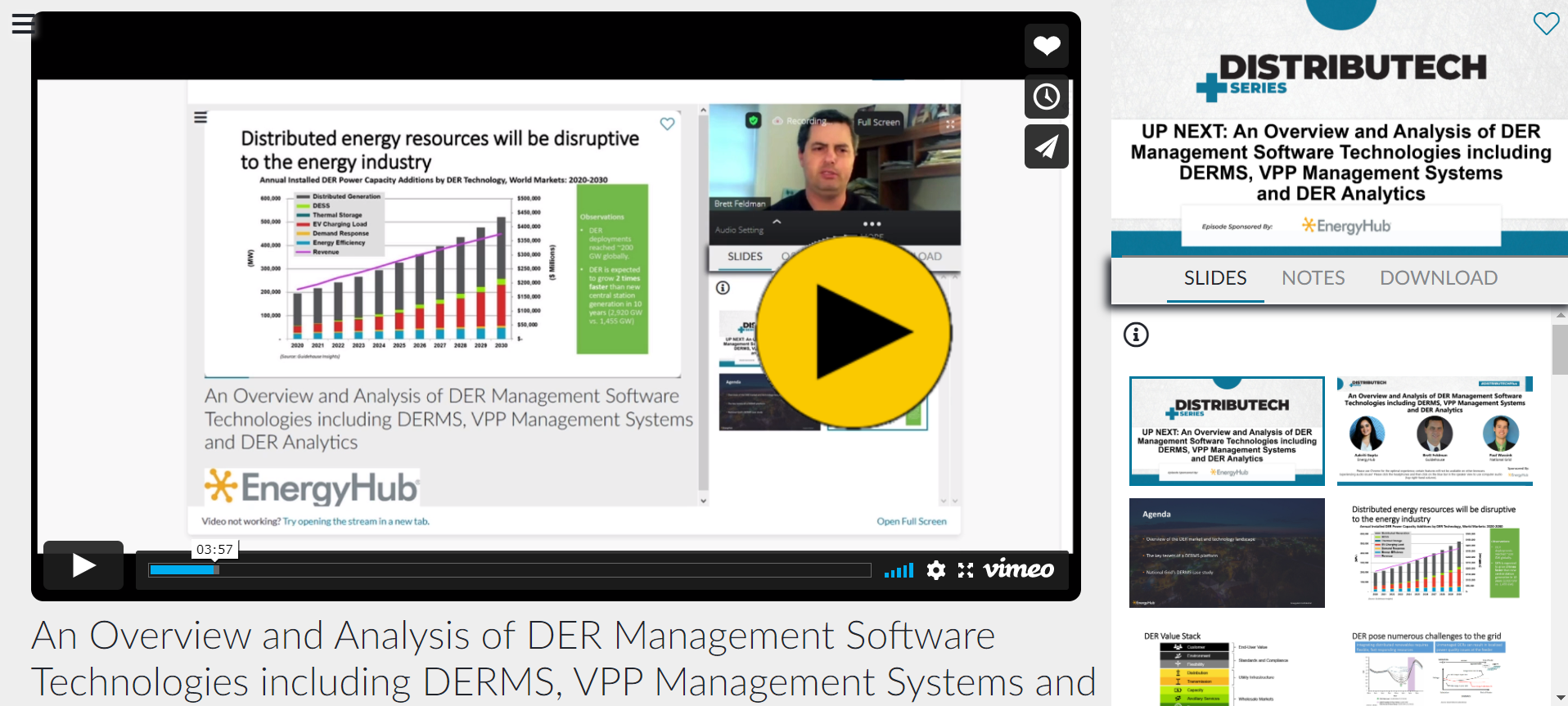 DTECH+ - DER Management
