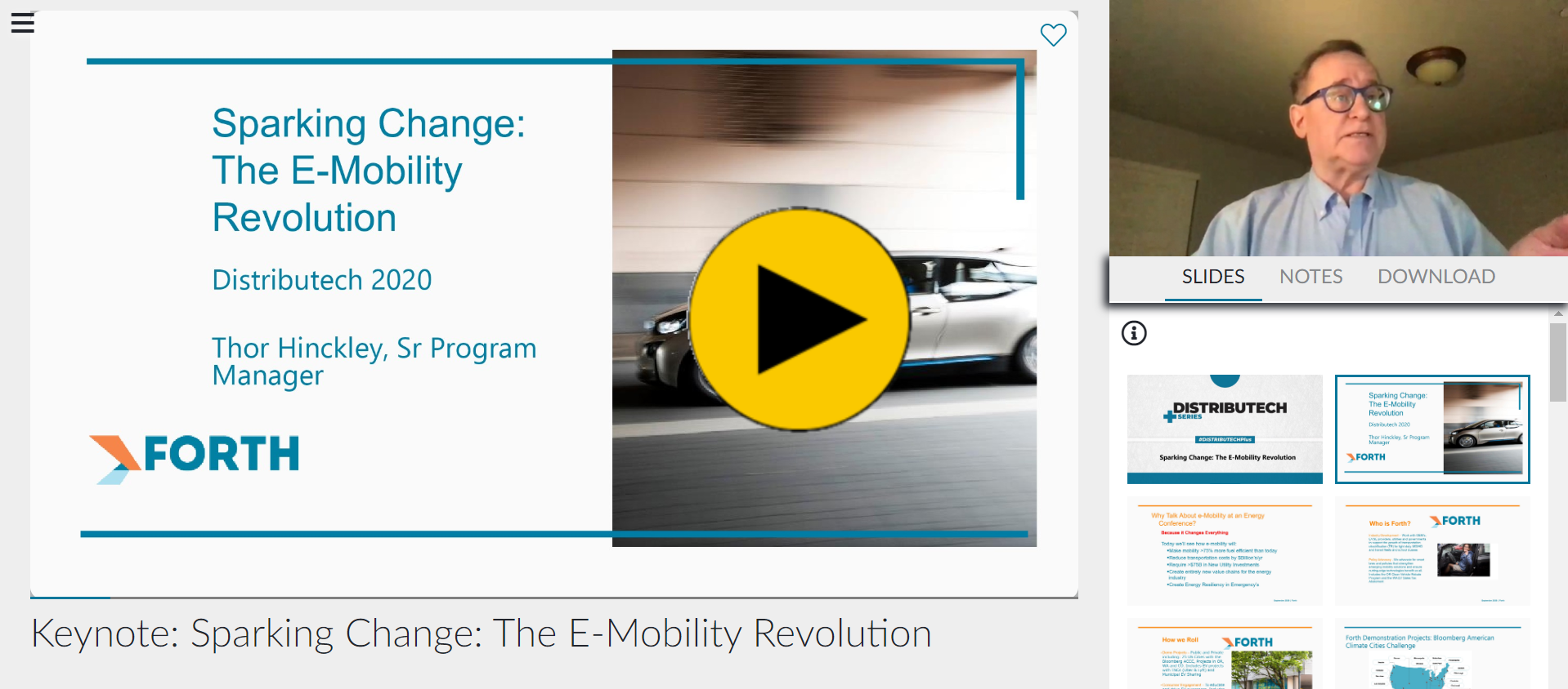 DTECH+ - Keynote: Sparking Change: The E-Mobility Revolution