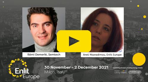 Enlit Europe Datatopia podcast Semtech