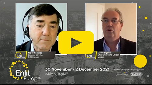 Enlit Europe interview David Bryson, Uniper
