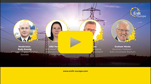 Enlit Europe New Energy Landscape Hub Series Season 1 Episode 2 Dispatchable Generation