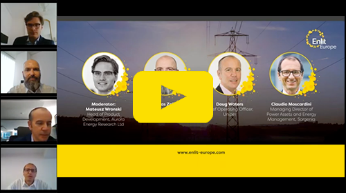 Enlit Europe New Energy Landscape Hub Series Season 2 Episode 1 The Future Role of Thermal Generation