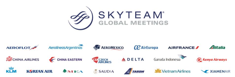 SKY TEAM ENLIT EUROPE OFFICIAL FLIGHT CARRIER
