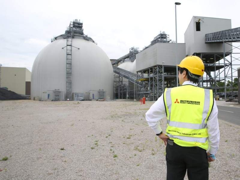 Drax and Mitsubishi partner on bioenergy and carbon capture project