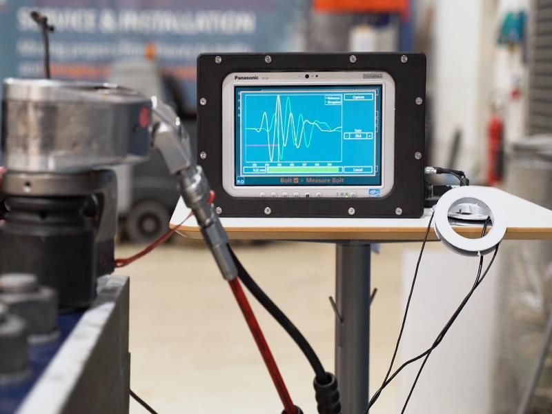 New bolt-check system uses data to improve wind turbine safety