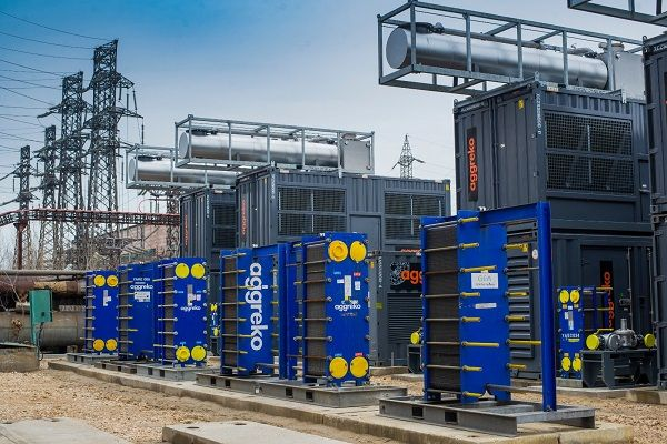 CHP system installed at Romania power plant