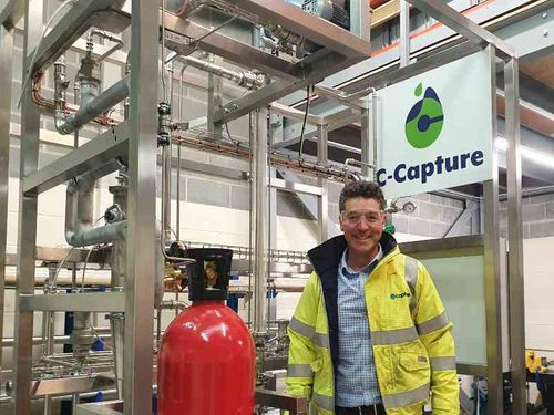 Carbon capture innovator completes £8m funding round