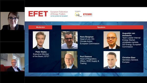 EFET Session 1: Decarbonising the EU economy at least cost