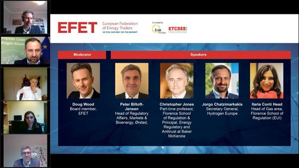 EFET Session 3: Towards a pan-European hydrogen market