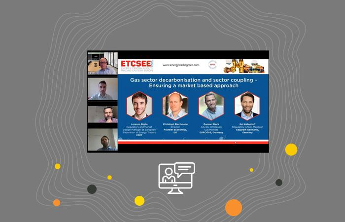 ETCSEE Webinar: Gas sector decarbonisation and sector coupling