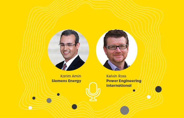 Enlit Europe's Kelvin Ross talks to Siemens Energy's Executive Vice-President of Generation, Karim Amin