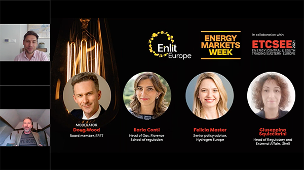 Energy Markets Week: Decarbonising the European gas markets - Hydrogen as integral element of Europe's Internal Energy Market