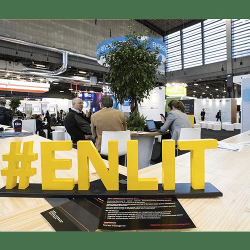 Exhibit at Enlit Europe