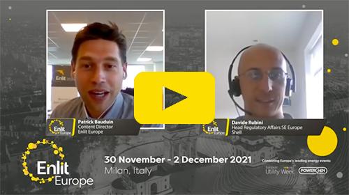 Enlit Europe interview Shell Davide Rubini