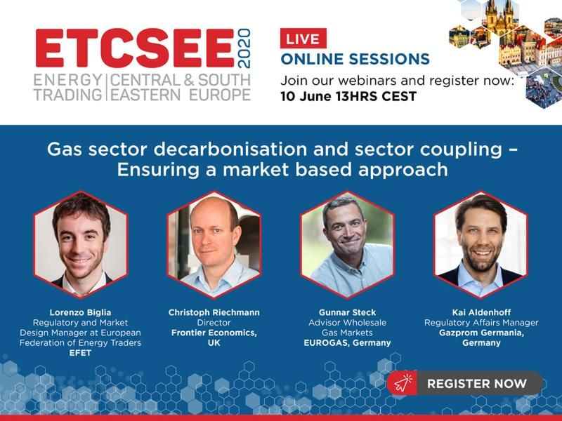 ETCSEE webinar 10 June Gas Sector Decarbonisation And Sector Coupling