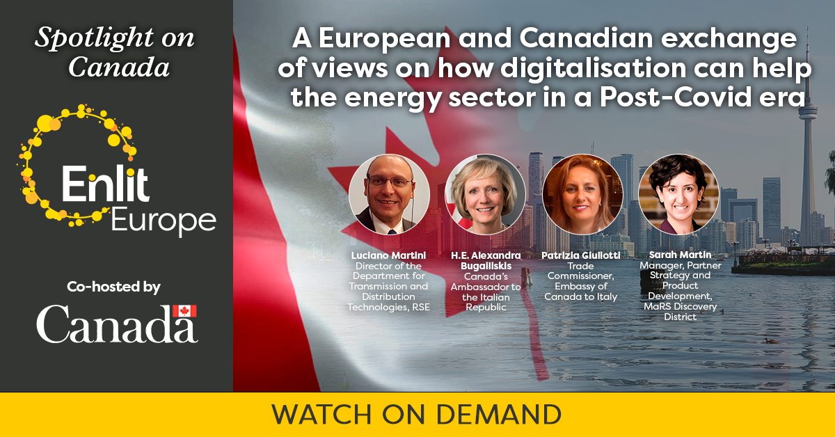 Spotlight on Canada Enlit Europe episode