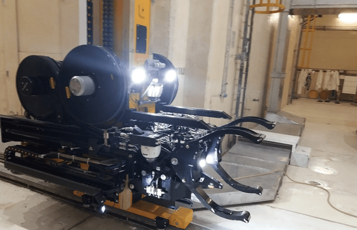 Ansaldo Nuclear develops robot for complex nuclear waste removal