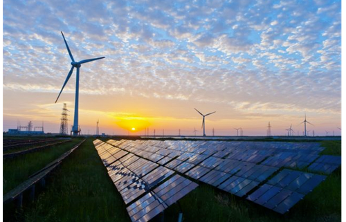 Solar and wind capacity up – fossil fuels down 25%