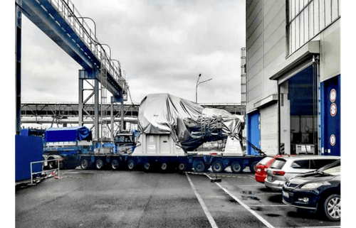 Doosan Skoda steam turbine starts landmark journey to Japan biomass plant