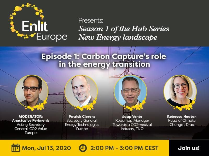Enlit Europe Hub Series New Energy Landscape Episode 1 The Role of Carbon Capture on the Energy Transition