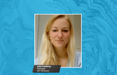 Initiate Interview: Julia Padberg of SET Ventures believes in the importance of focusing on the positives