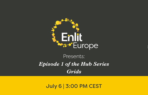 Join the Enlit Europe Hub Series: Grids - Episode 1