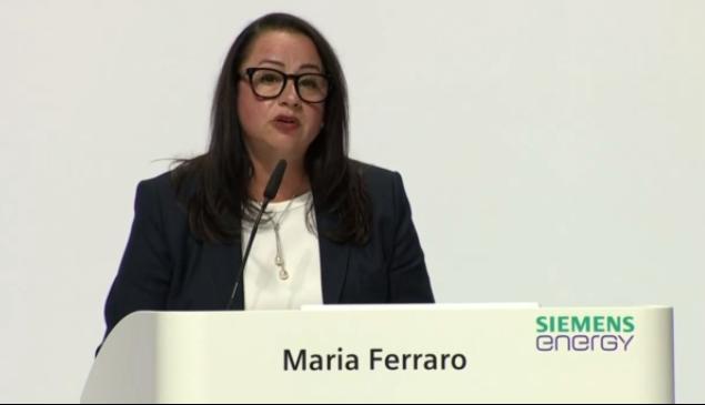 Siemens Chief Operating Officer Maria Ferraro