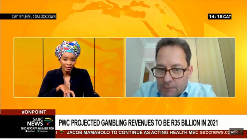 SABC Interview: A look at the state of gambling in Africa with ICE Africa Event Director,Greg Saint