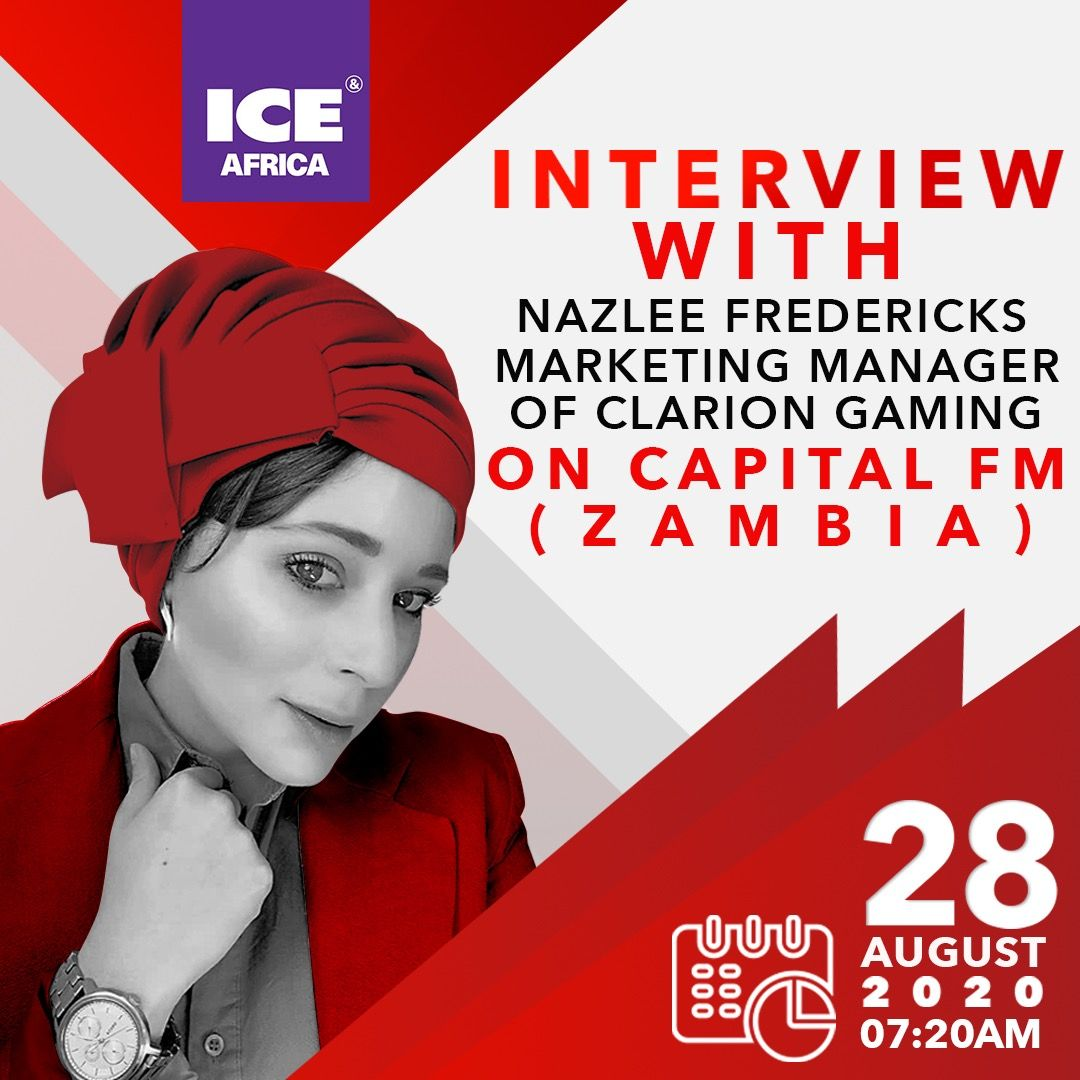 Naz Fredericks-Talks ICE Africa Digital and Women In Gaming with Pualinah Somo from Capital FM.