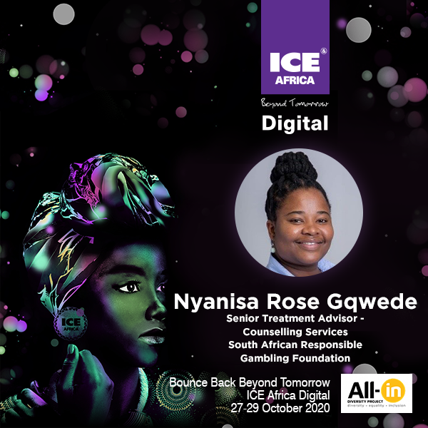 Women In Gaming: Miss Nyanisa Rose Gqwede, Senior Treatment Advisor, Counselling Services, The South African Responsible Gambling Foundation
