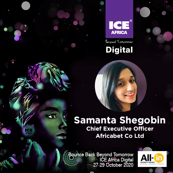 Women In Gaming: Samanta Shegobin, CEO, Africabet Co Ltd, Mauritius