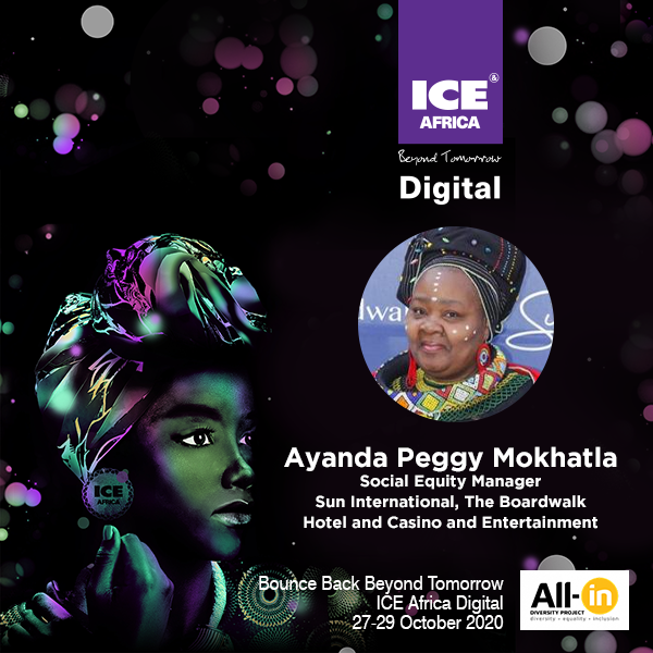 Women In Gaming: Mrs Ayanda Peggy Mokhatla,Social Equity Manager, Sun International The Boardwalk Hotel and Casino and Entertainment