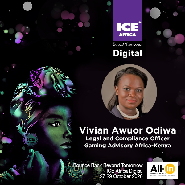 Women In Gaming: Vivian Awuor Odiwa Legal and Compliance Officer Gaming Advisory Africa-Kenya