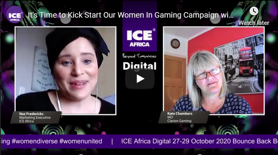 Women In Gaming: It's Time To Kick Start Our Women In Gaming Campaign with Ms. Kate Chambers (MD of Clarion Gaming)