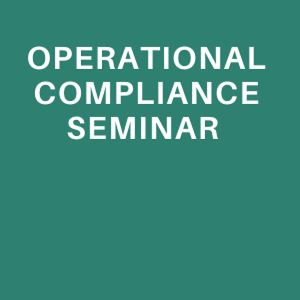 Operational Compliance Seminar