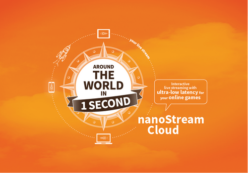 nanocosmos takes iGaming Live Streaming Experiences in nanoStream Cloud to the Next Level With New Adaptive Bitrate Support at ICE 2020